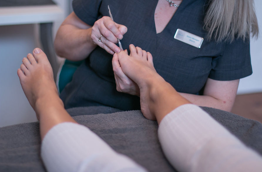 Luxury Manicure and Luxury Pedicure