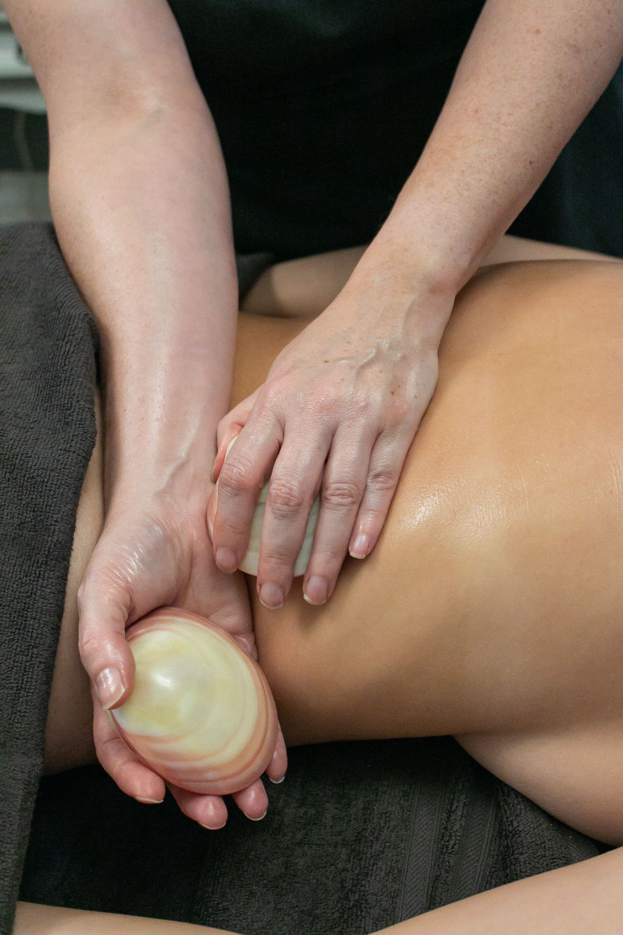 Hot Lava Shell Relax Body Massage