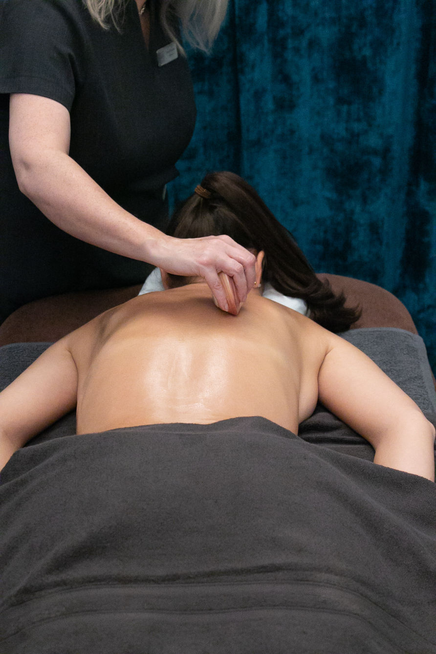 Hot Lava Shell Back Massage